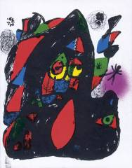Miró Lithographies IV (1969-1972)